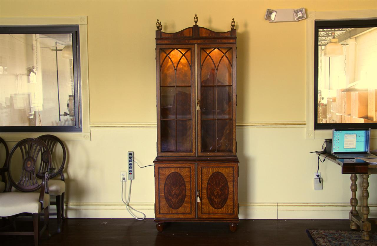 luxurious china cabinet