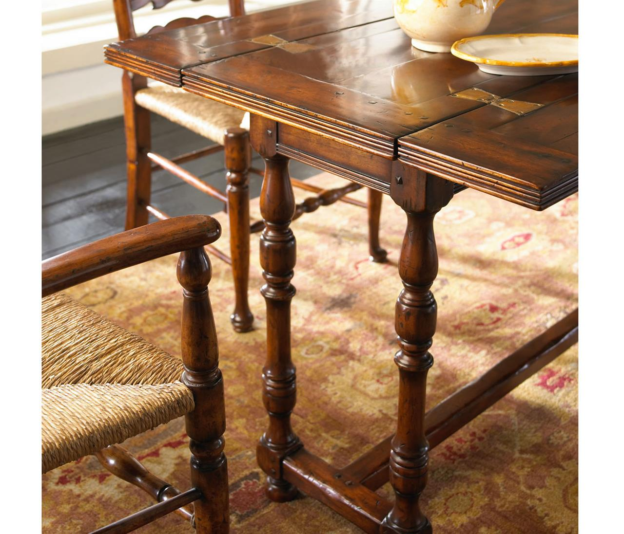 Surprising Flip Top Console Table Rustic Solid Walnut Country Farm Table Gmtry Best Dining Table And Chair Ideas Images Gmtryco
