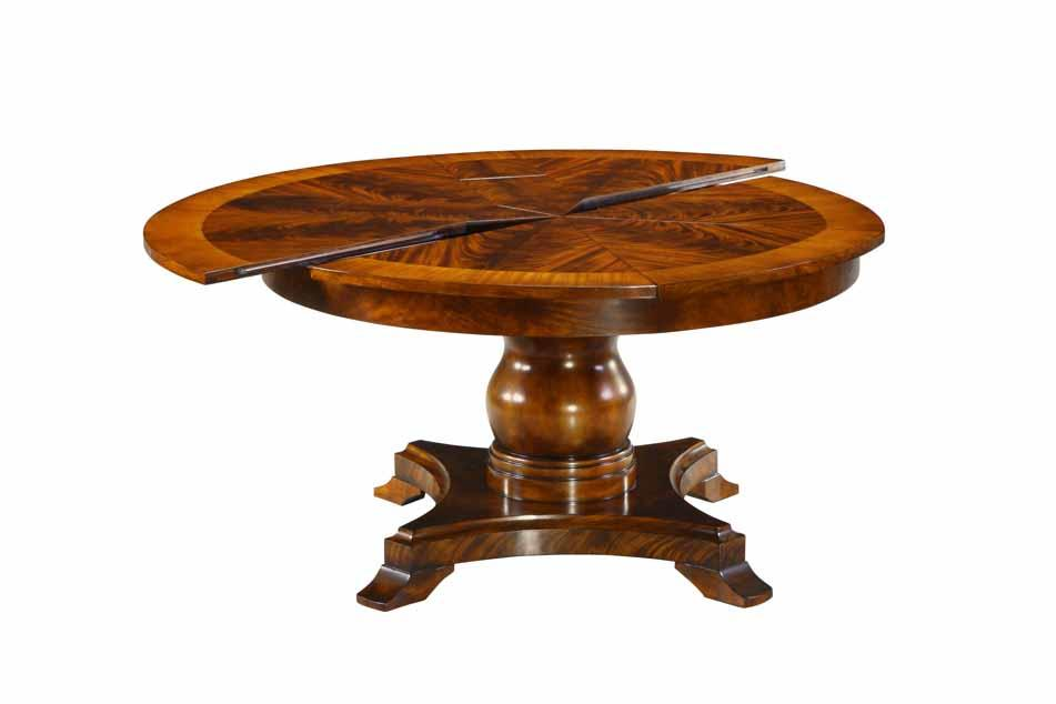 Custom mahogany jupe table