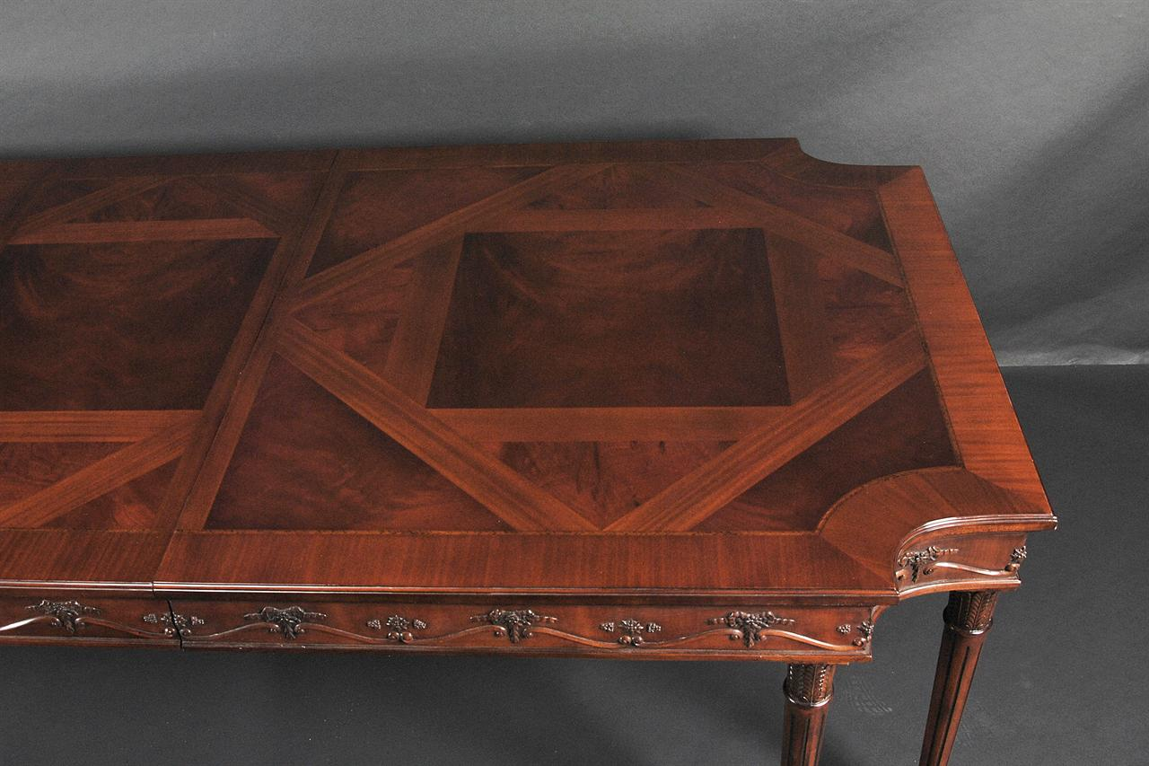 neoclassical mahogany dining room table antique reproduction ebay