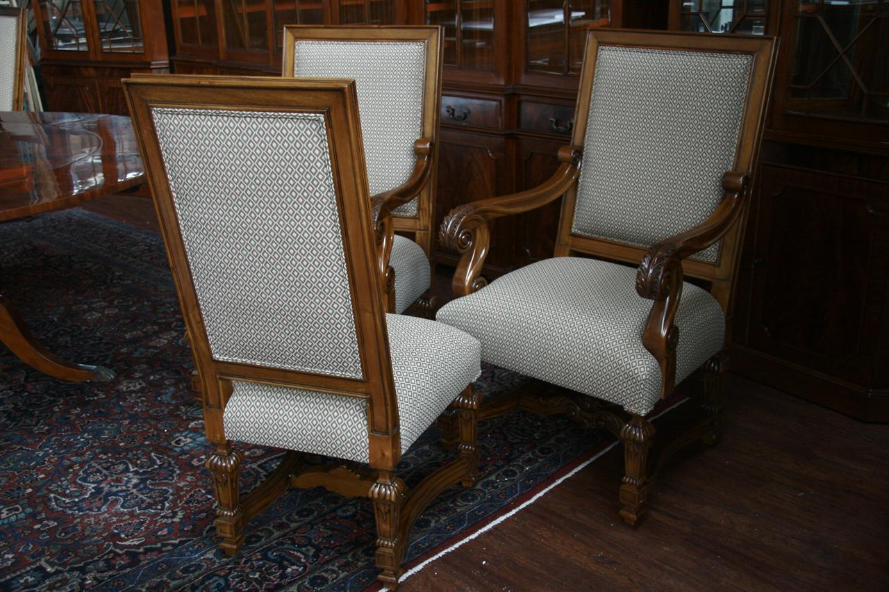 mahogany dining room chairs grand providence chairs ebay. Black Bedroom Furniture Sets. Home Design Ideas