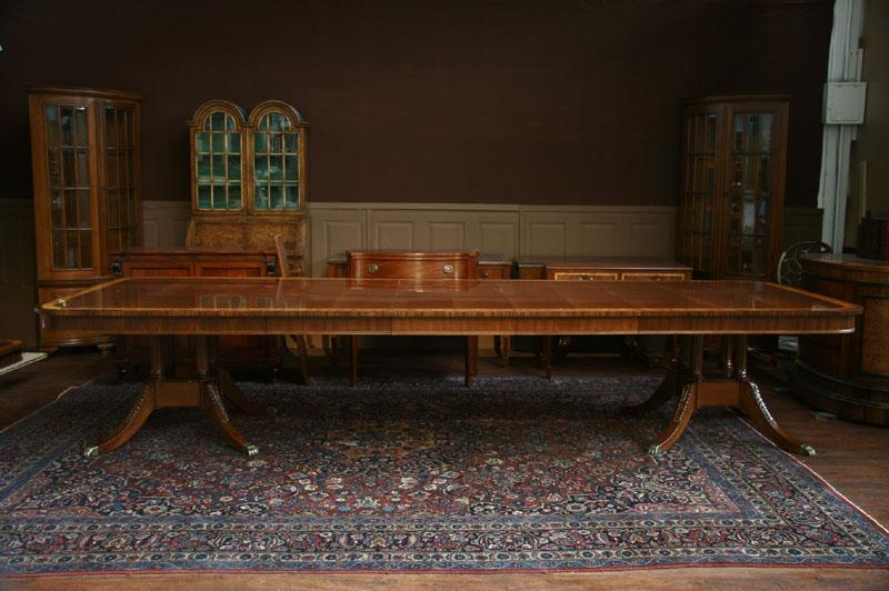 Henredon Dining Room Table, Henredon Aston Court Dining Room Table With  Leaves