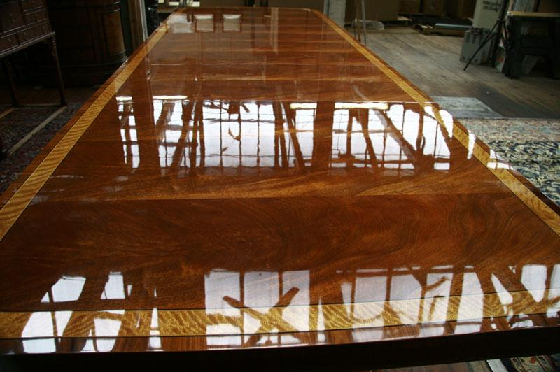 Dining Table Used Dining Room Table Refinished. Henredon Dining Table
