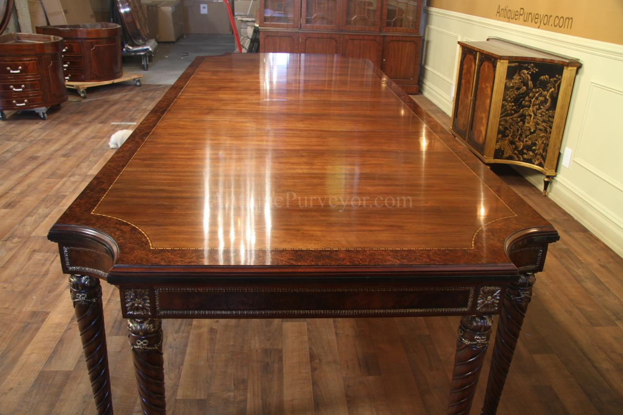 Well-liked Walnut Dining Table Opens to 132 inches GP93