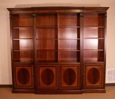 High End, American Made Bookcase Built One at a Time