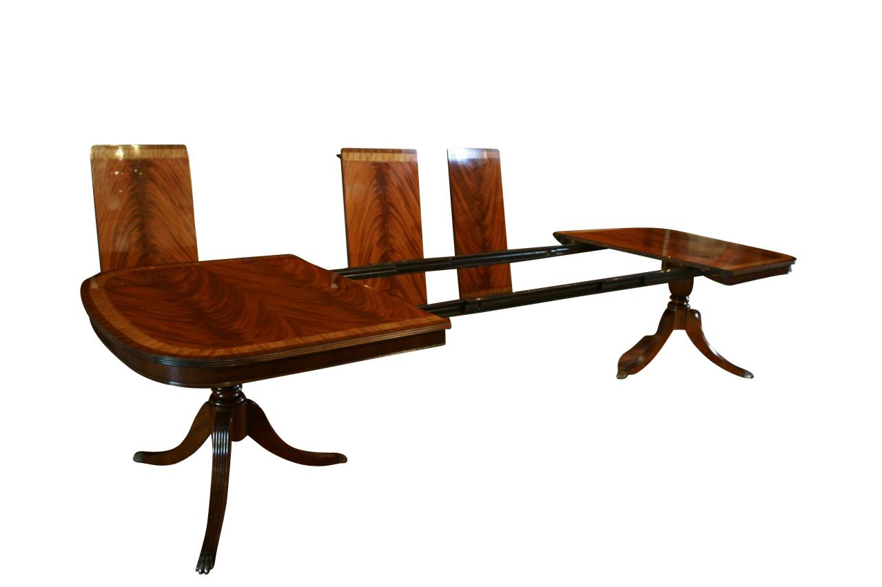 Large High End Mahogany Dining Table Seats 1214