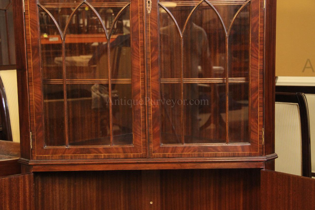 Rosewood Banding Flame Mahogany Door Panels