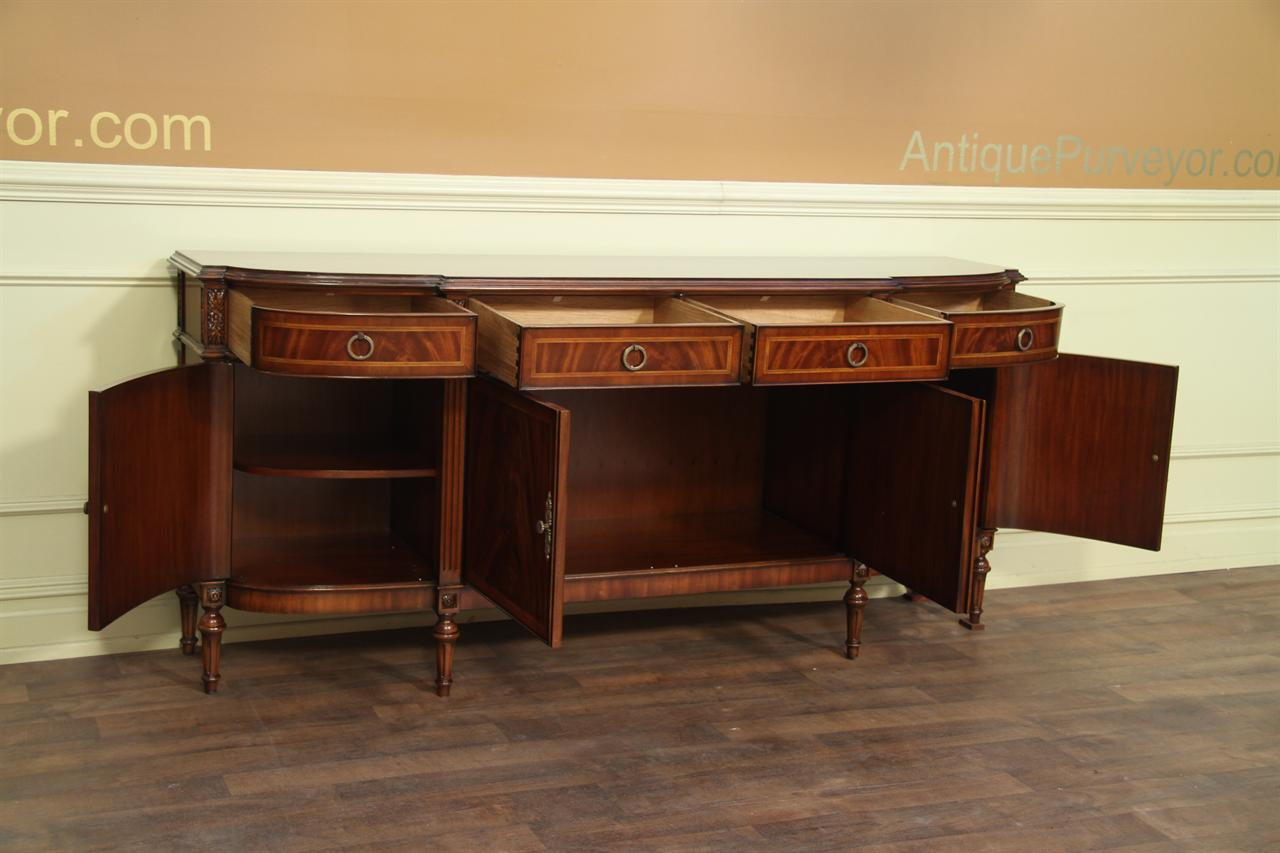 High End Antique Reproduction Dining Room Sideboard