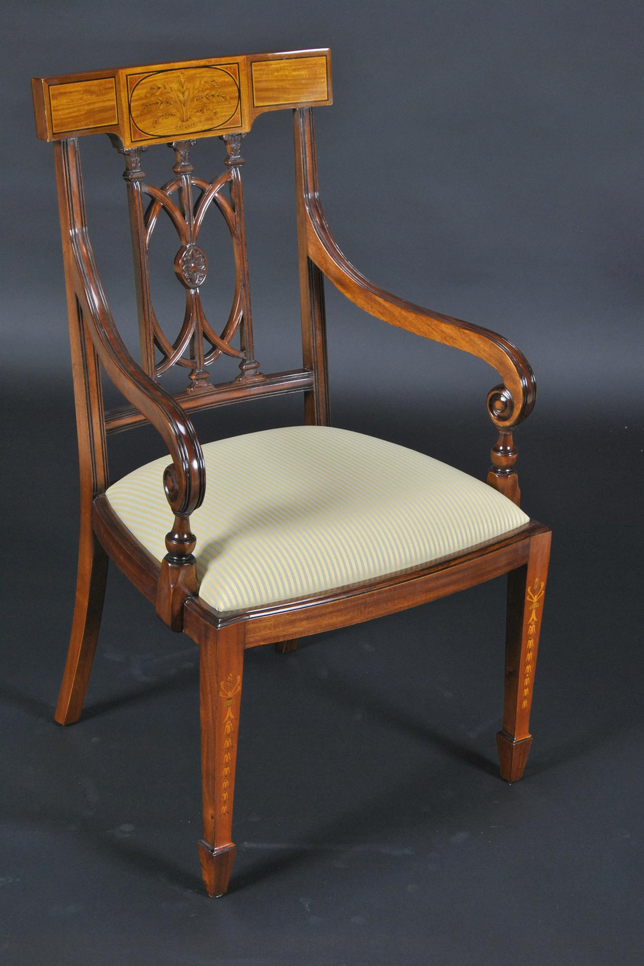 Sheraton Style Or Adams Style Dining Chairs High End
