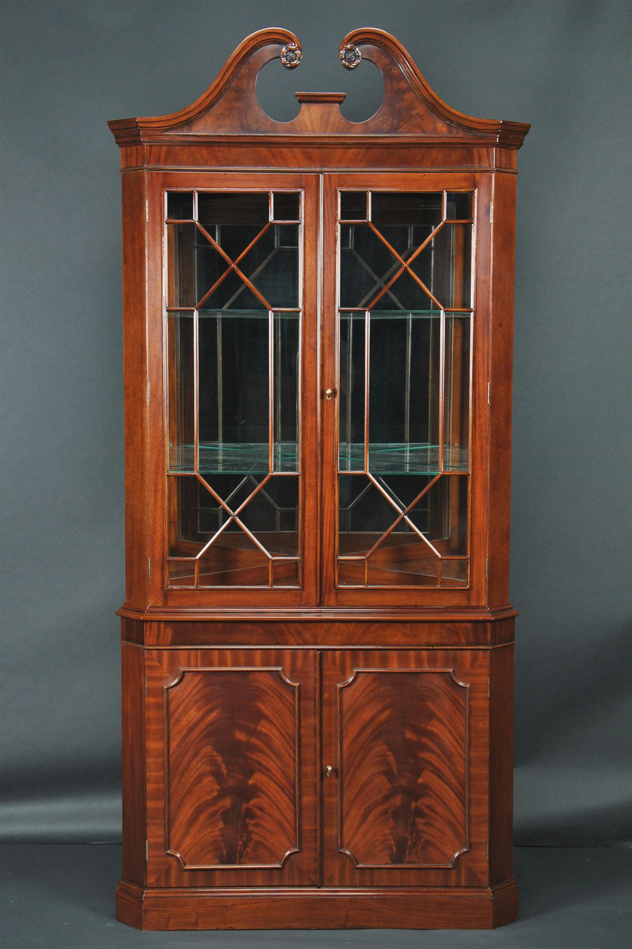 corner china cabinet or corner hutch for the dining room - Dining Room Corner Hutch