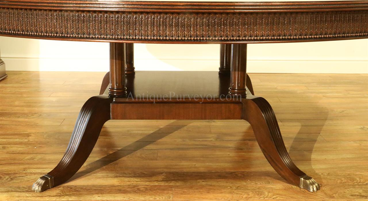 Oval Dining Table Traditional