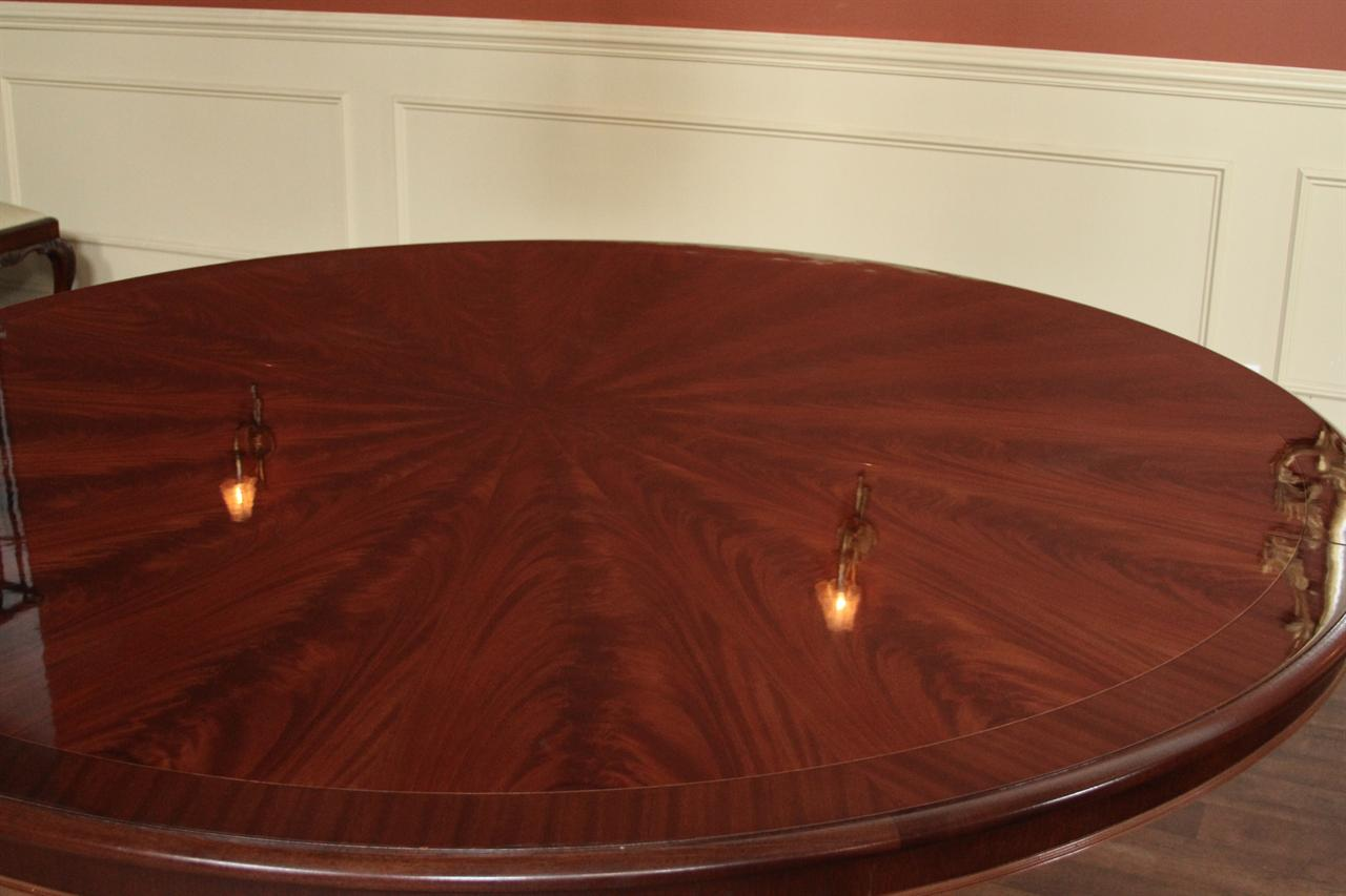 Extra Large 84 Round Dining Table American Made