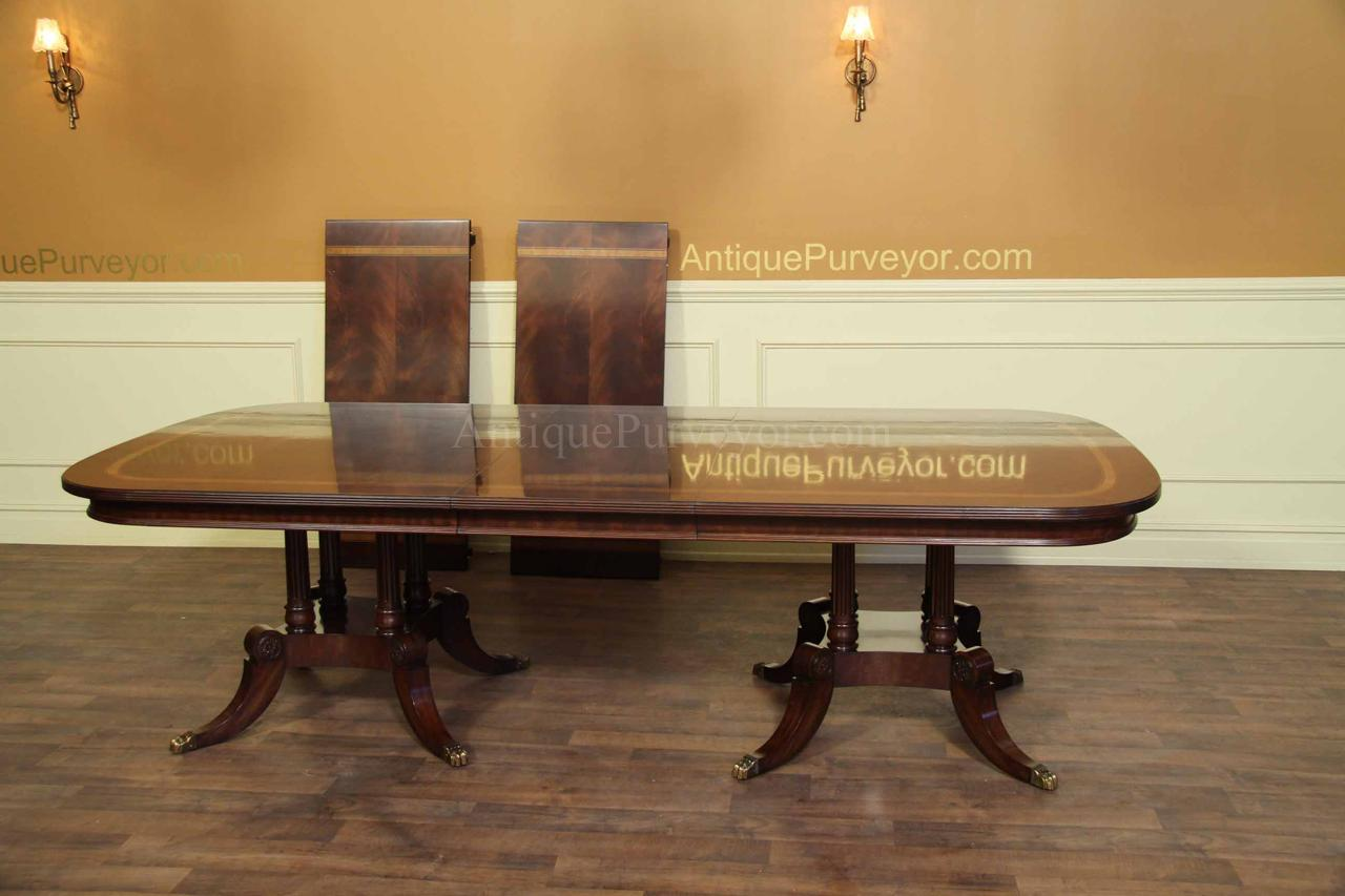 Large and wide mahogany dining table seats 14 16 people for 108 table seats how many