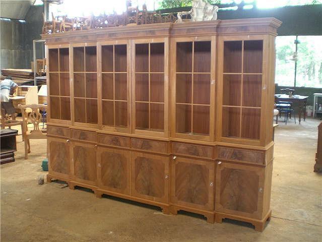 Large Hutch Shown At Factory In Indonesia Before Finish