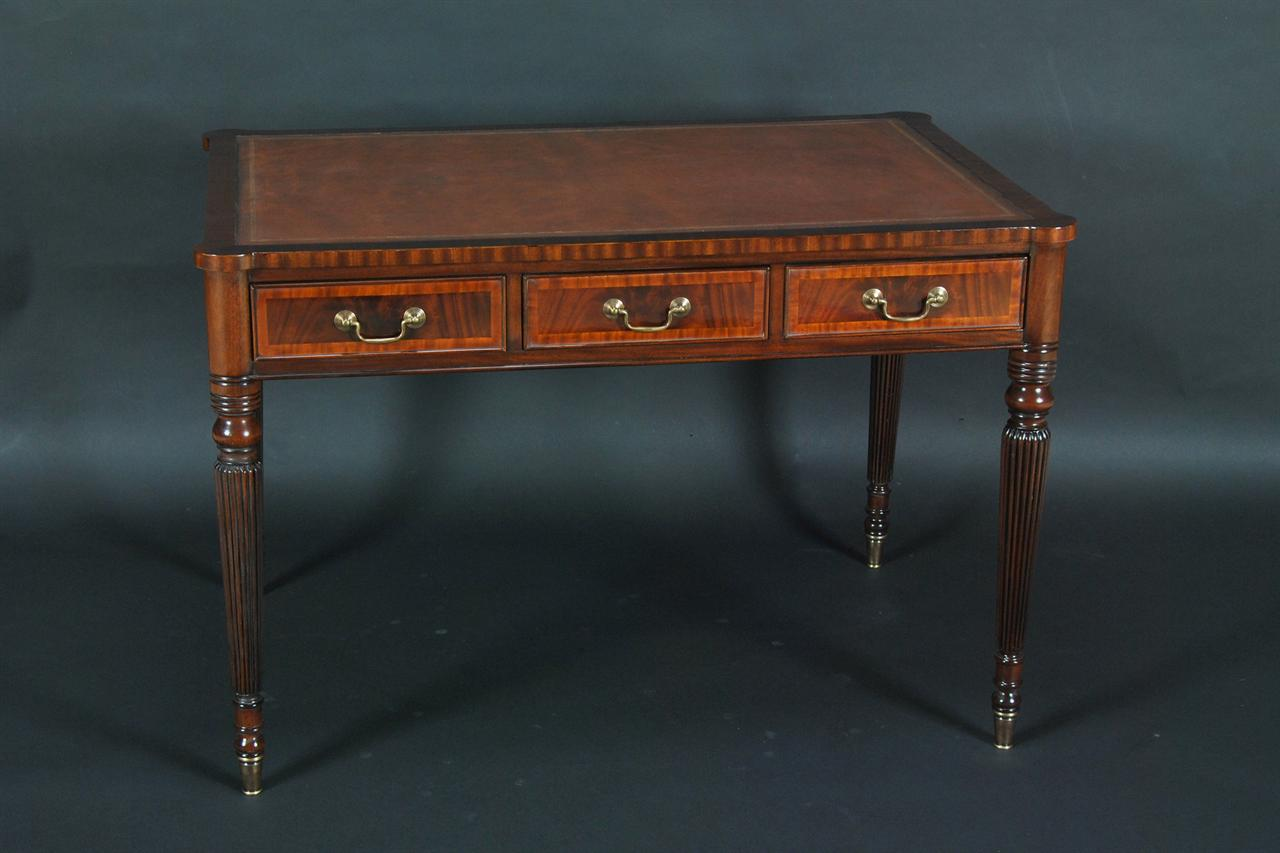 Leather Top Mahogany Writing Desk