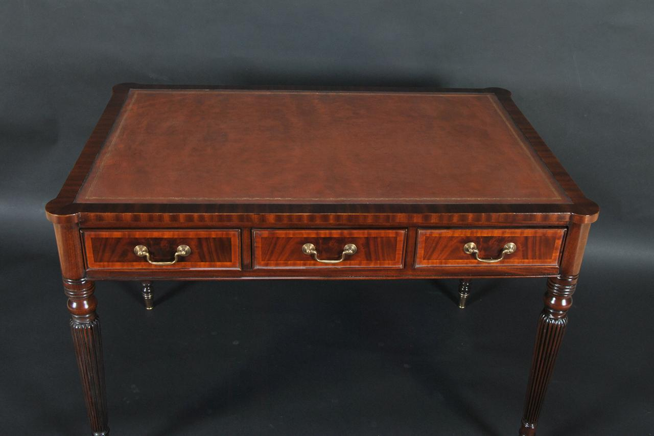 Leather Top Gany Writing Desk