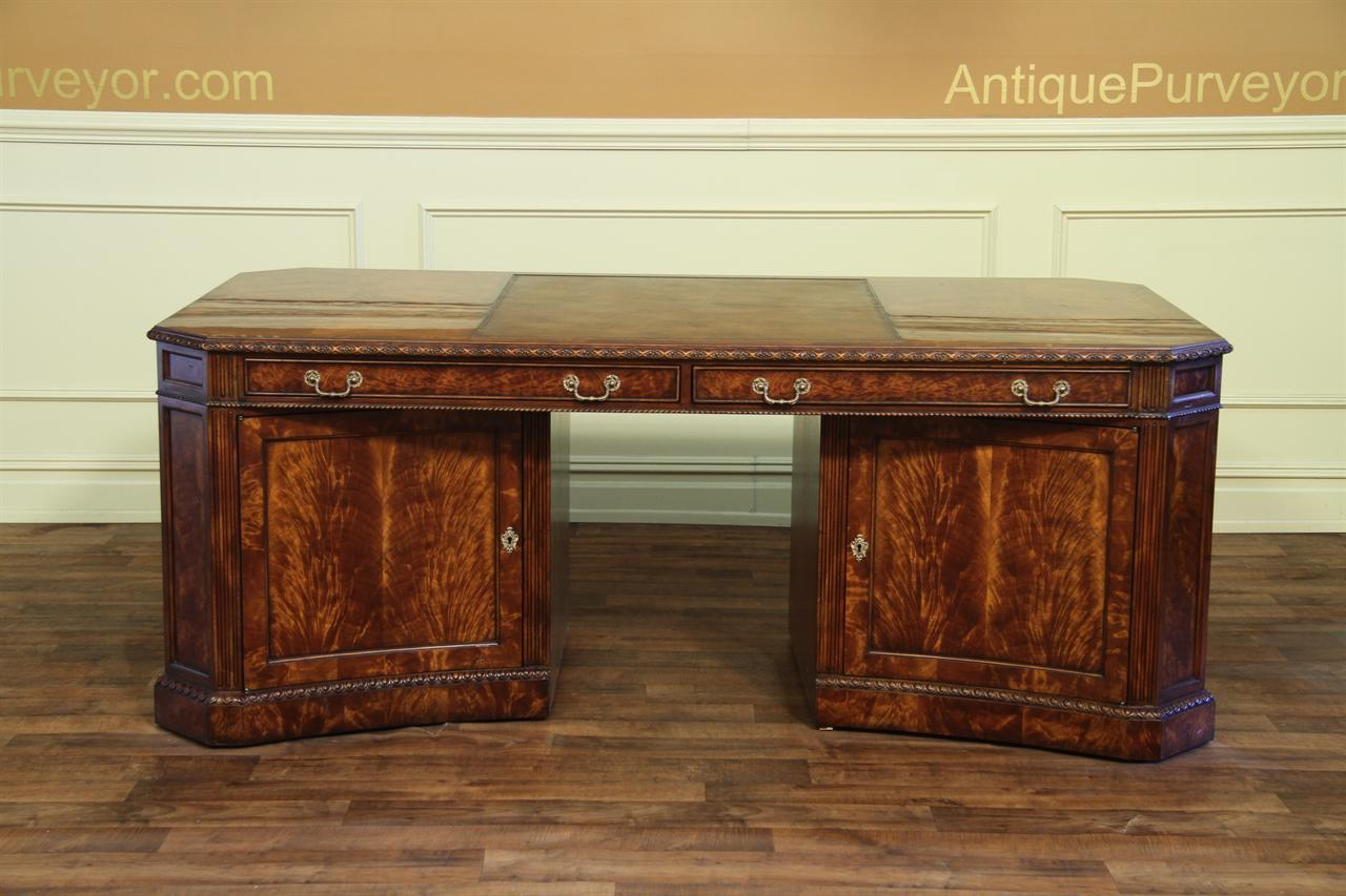 cabinet with glass doors leather top partners desk amd file for the traditional 13086