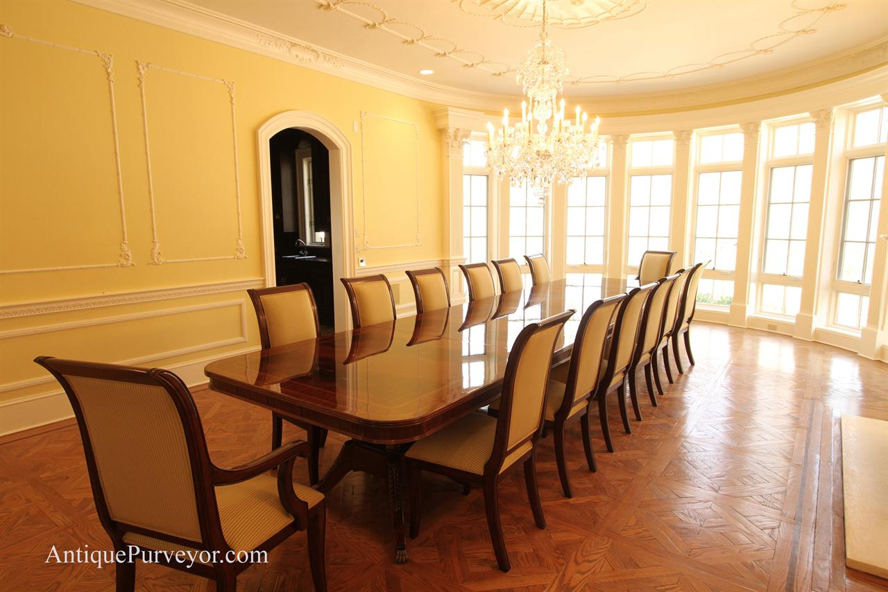 Large Dining Room Tables