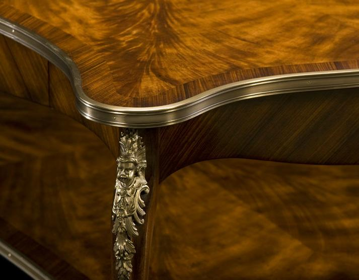 High End Mahogany Cocktail Table