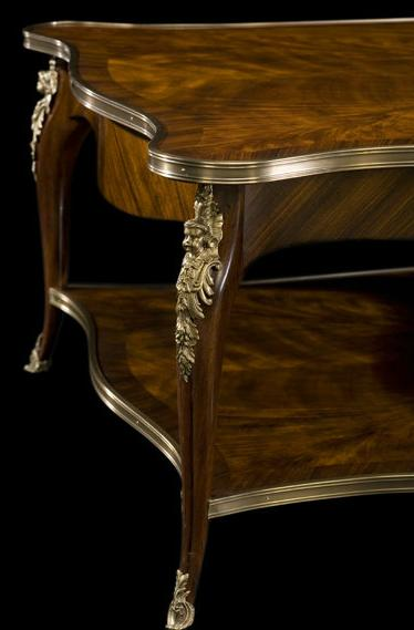 High end mahogany cocktail table for Cocktail tables high