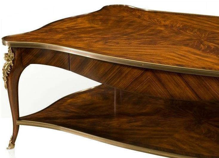 High end mahogany cocktail table for High end coffee table