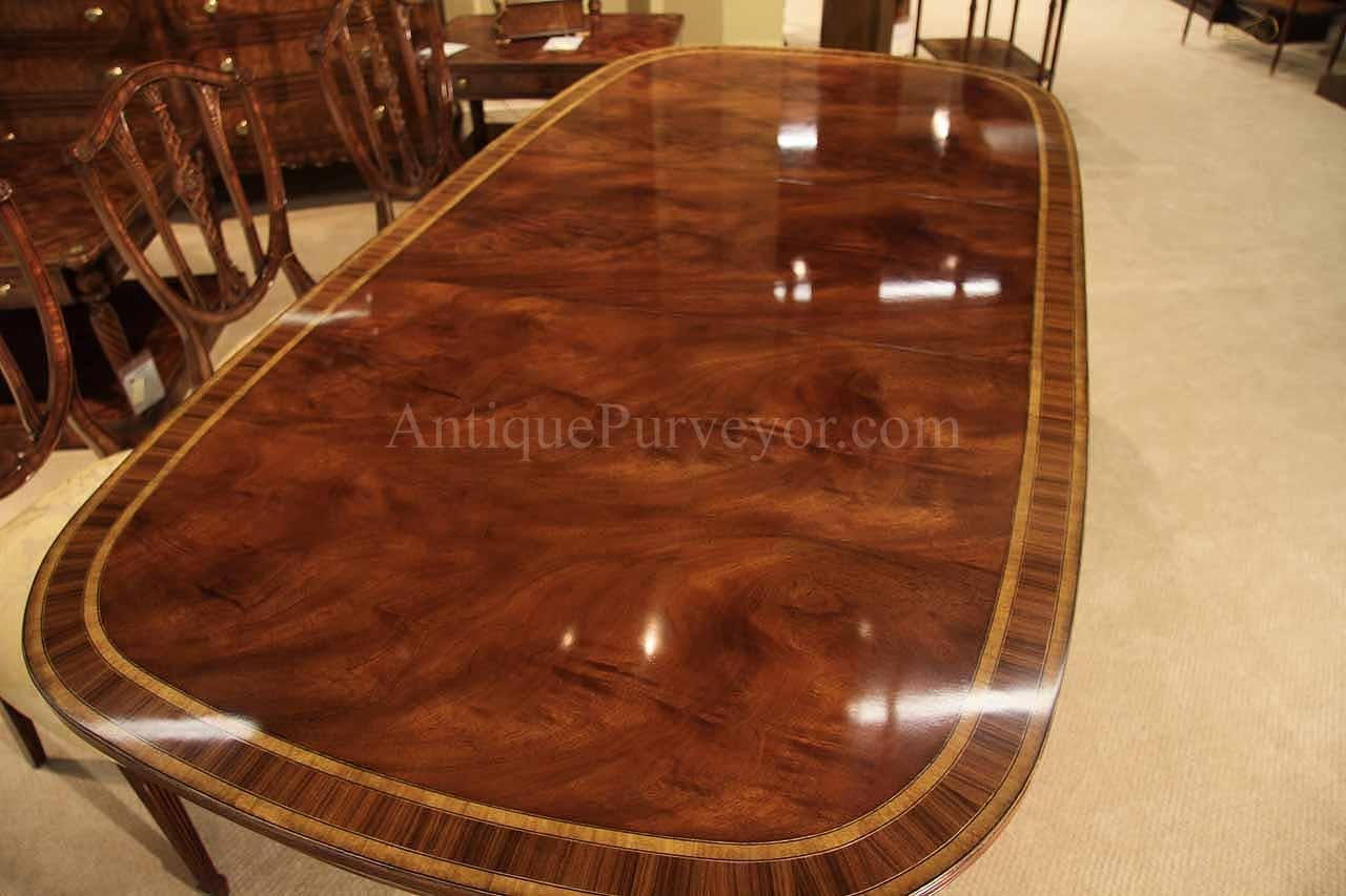 Theodore Alexander 5405 266 Brilliant And Skillful Slip Matched Swirl Mahogany Field