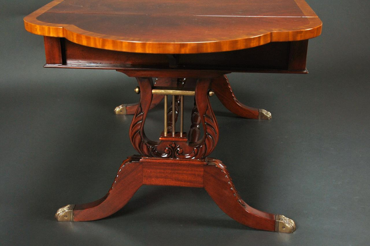 Duncan Phyfe Coffee Table Antique Reion