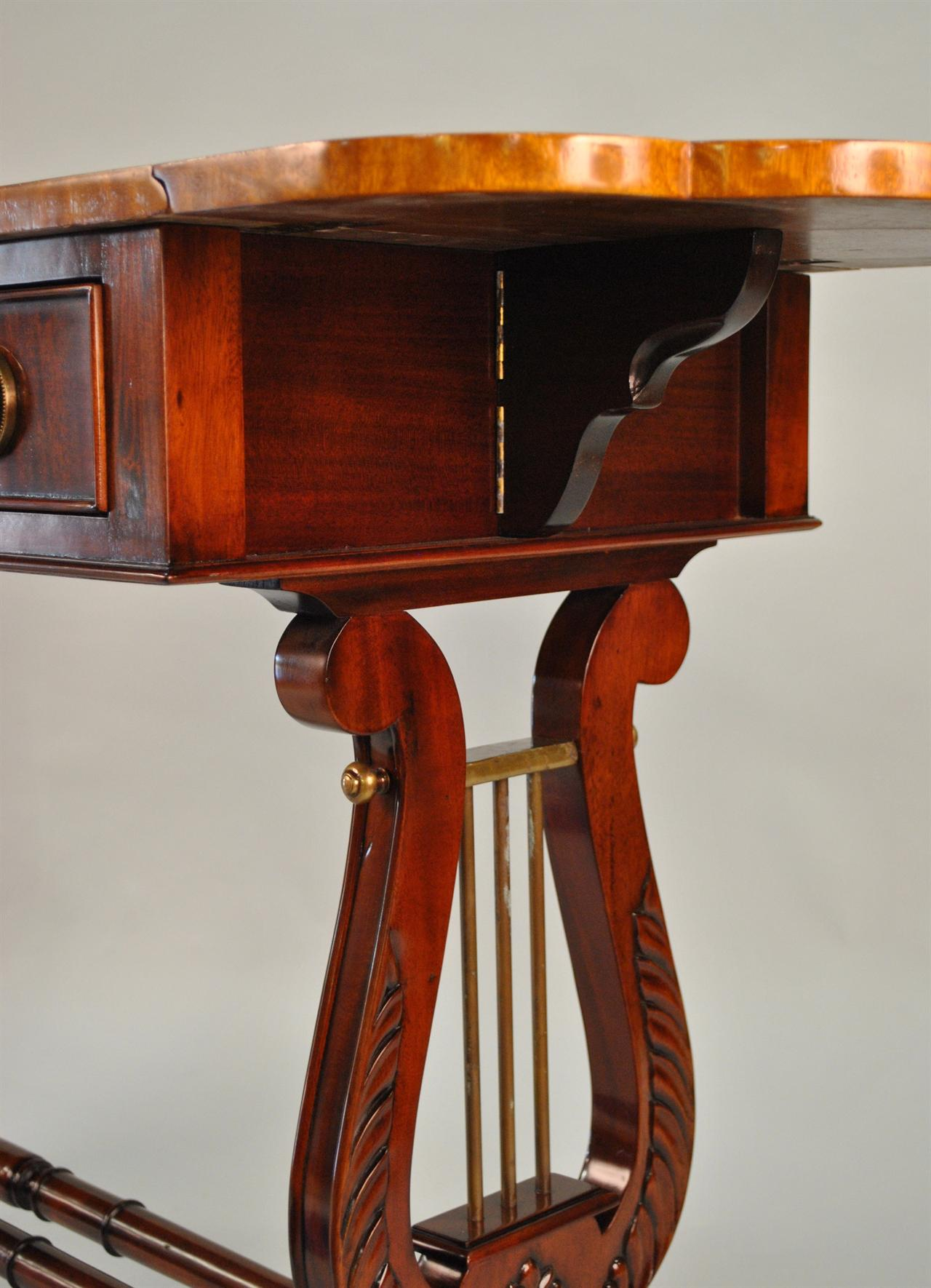 Lyre Console Lyre Sofa Table