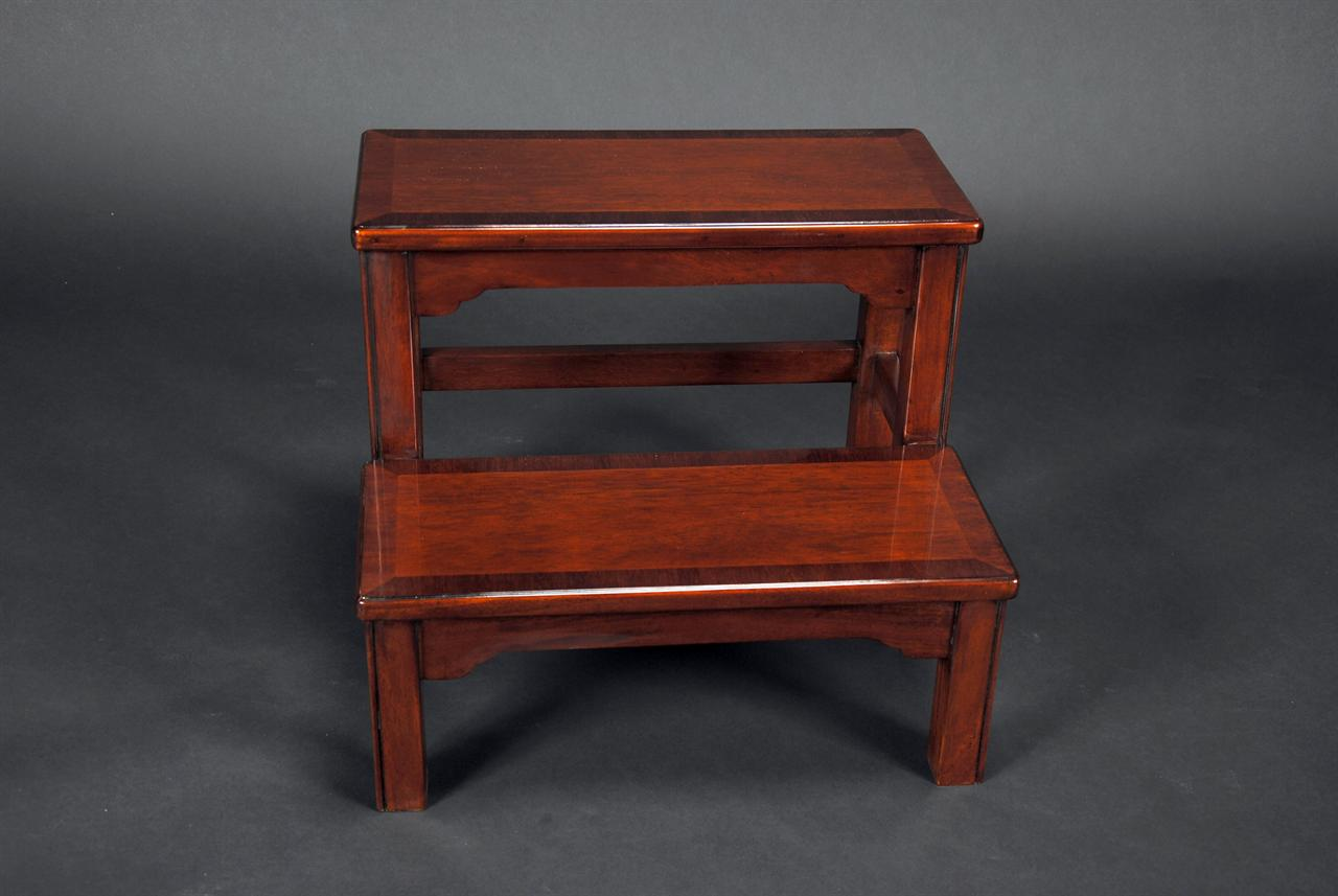 Mahogany Bed Step