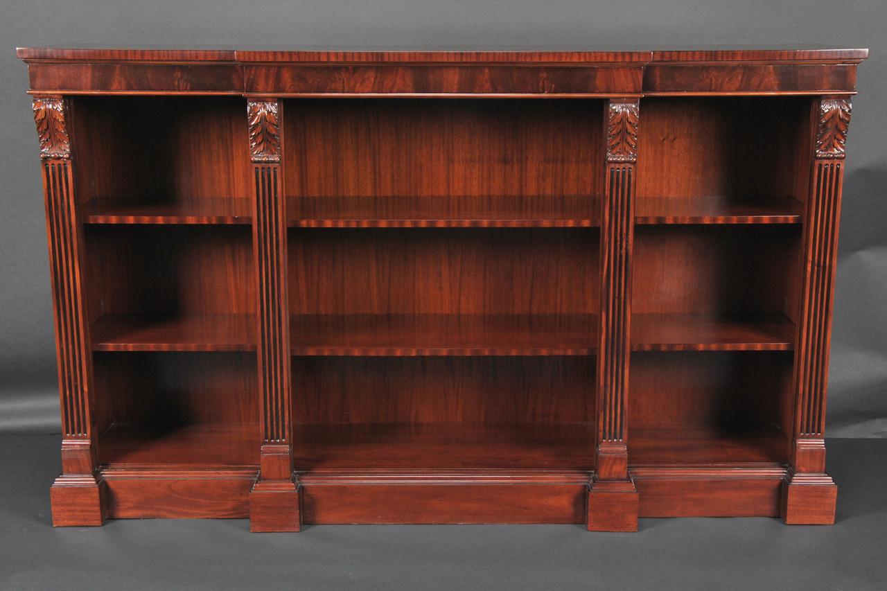 Chippendale Table Legs Mahogany Bookcase ~ Penhurst