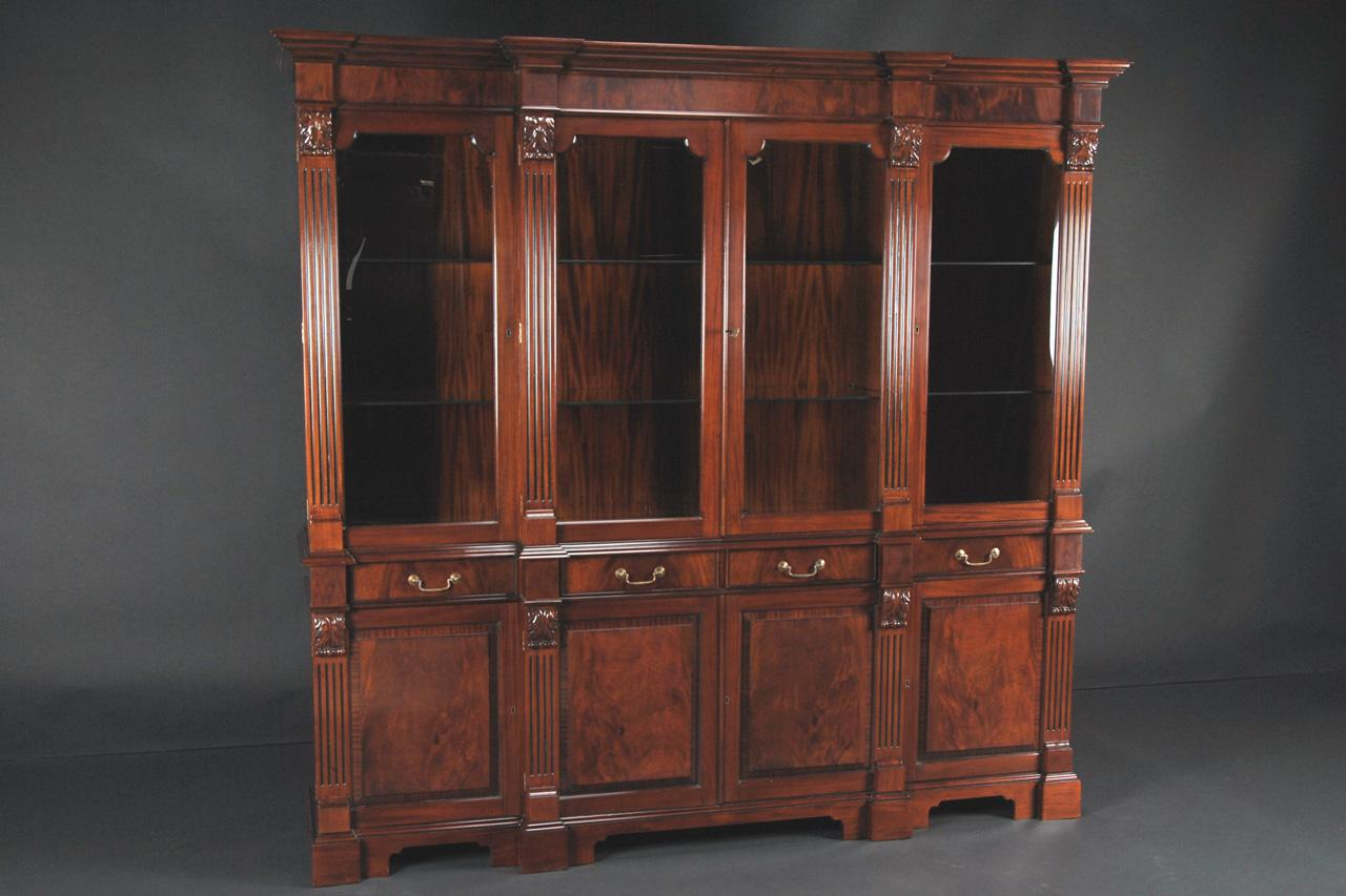 Matches Well Most Antique Style Furniture, Fine Antique Reproduction Cabinet