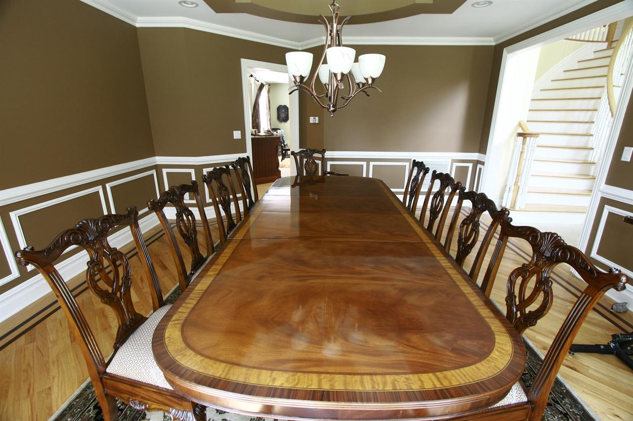 Chairs Shown With A Custom Light Mahogany Or Blonde Dining Table