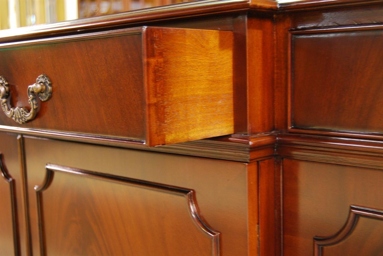 Mahogany Colonial Sideboard