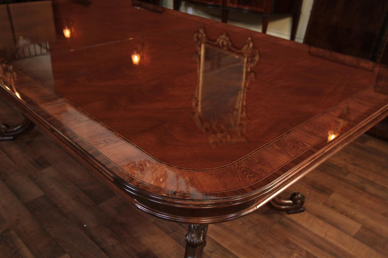 antique dining table styles Reproduction French Style Mahogany Dining or Conference Table antique dining table styles
