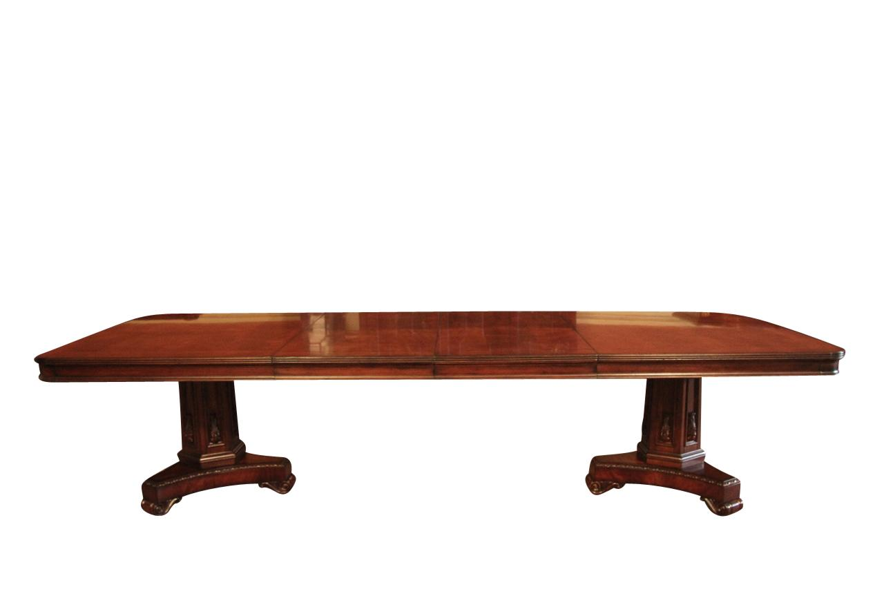 Mahogany conference table or dining room table for for 12 conference table