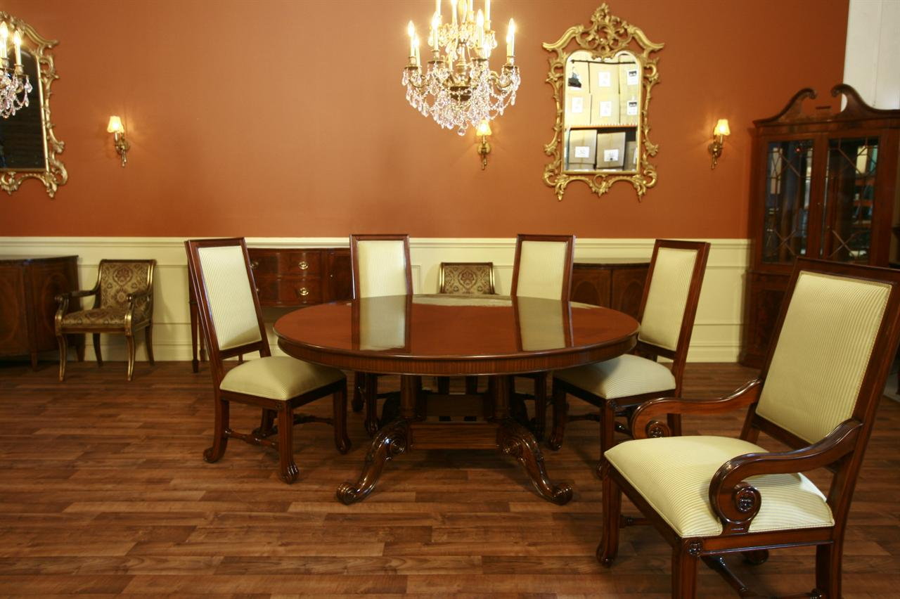 Large mahogany dining room chairs luxury chairs for Mahogany dining room