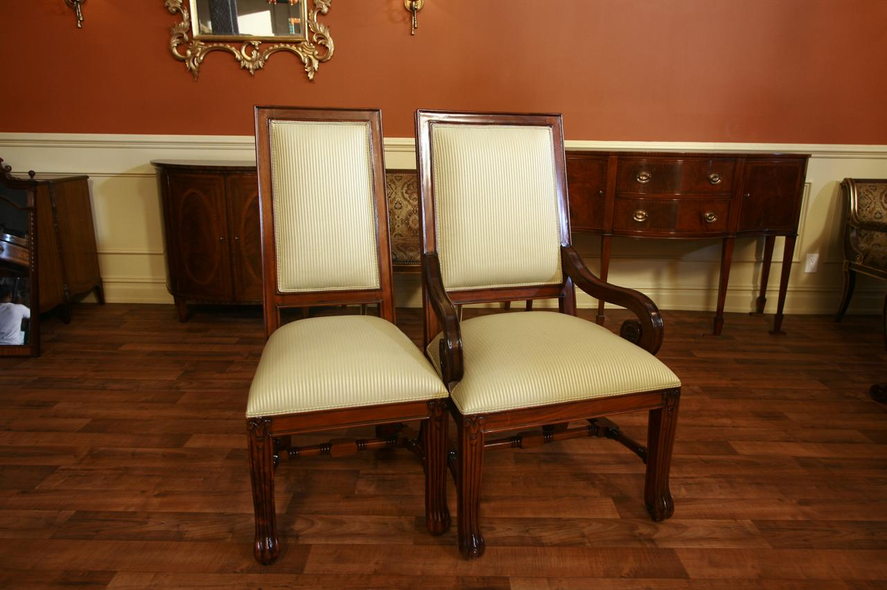 mahogany dining room chairs luxury chairs upholstered dining chairs
