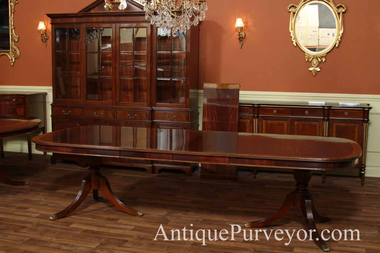 dining table mahogany regency dining table