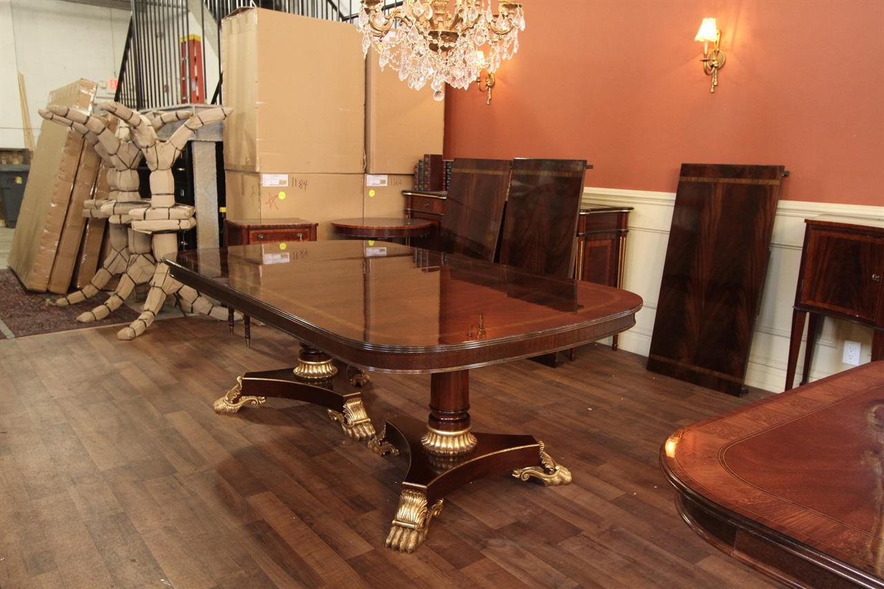 Extra large dining room tables extra large and wide high - Extra large round dining room tables ...