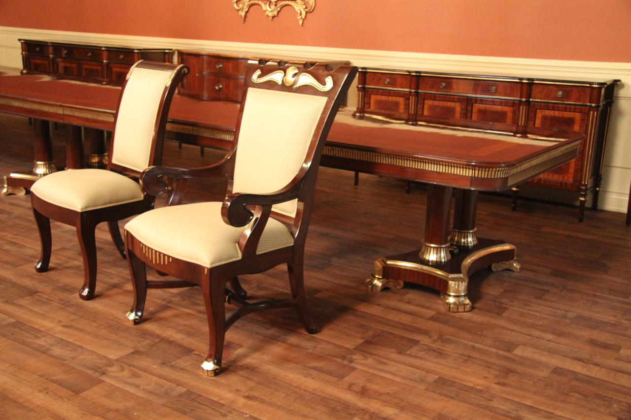 Arm Chairs And Side Chairs Are Available To Make A Mahogany Dining Room Set