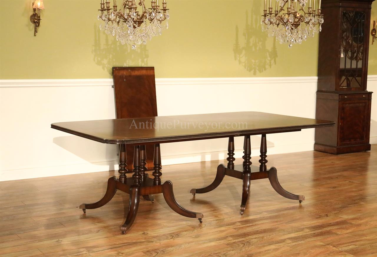 fine mahogany dining table