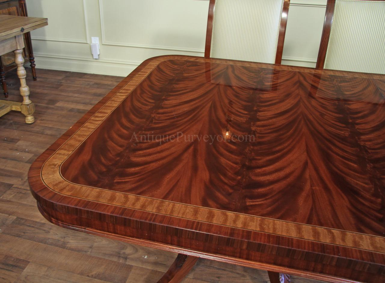 High End Extra Large amp Long Mahogany Dining Table Seats 12  : mahogany dining table with leaves seats 12 to 16 people 11032 from www.ebay.com.my size 1280 x 940 jpeg 132kB