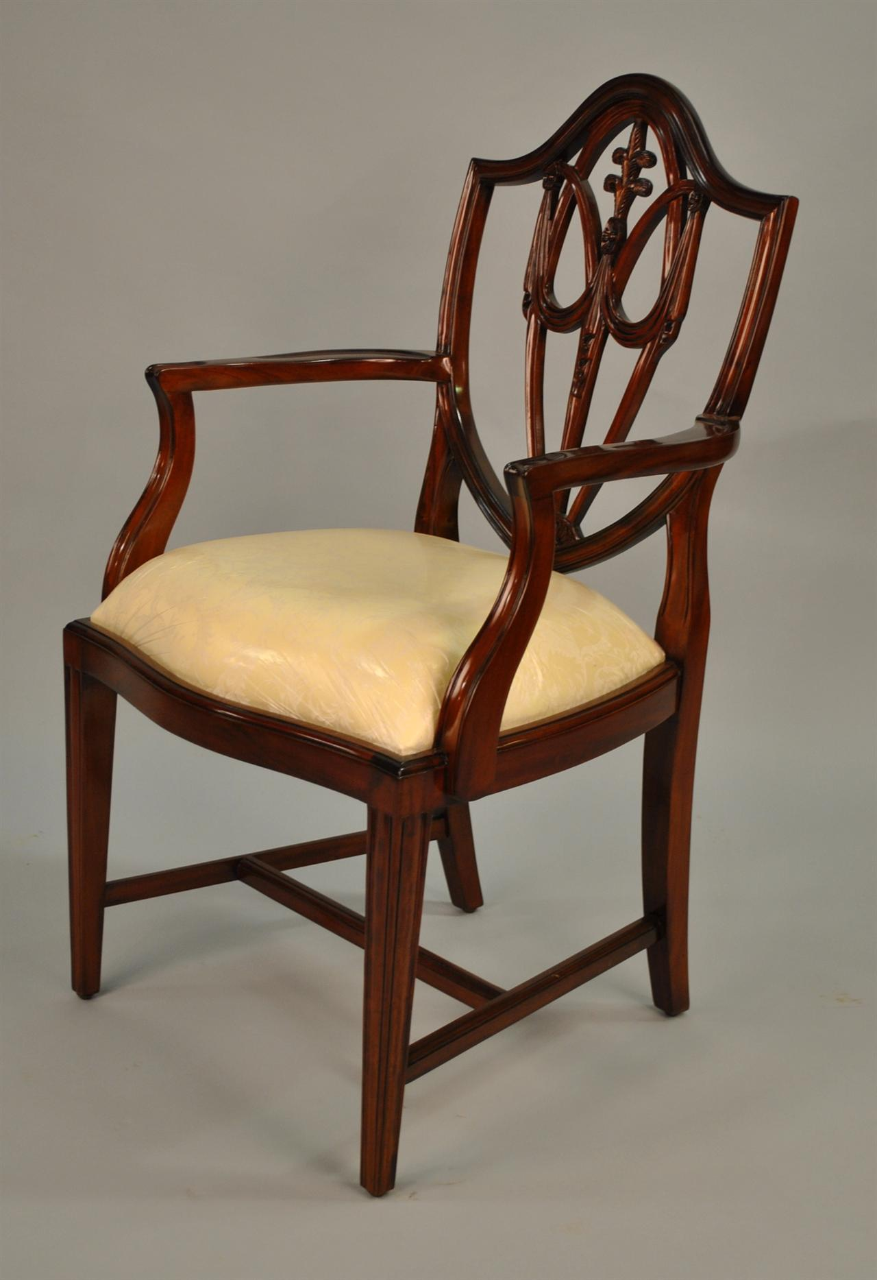 card table with four chairs by heritage henredon for sale at