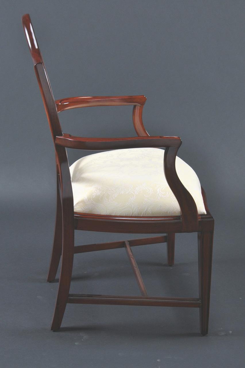 Mahogany Shield Back Dining Chairs Shield Back Dining Chairs