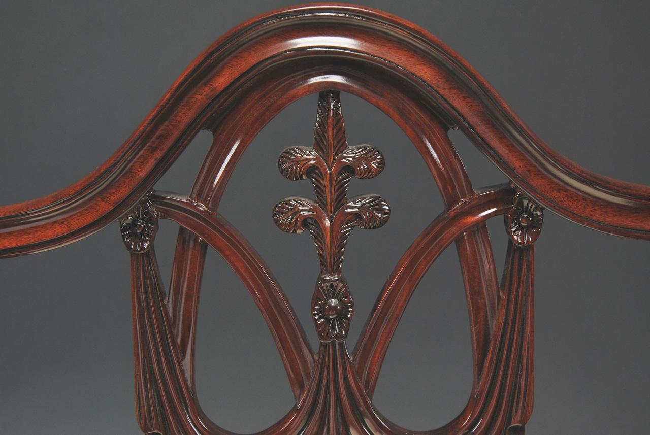 Mahogany Shield Back Dining Chairs Fleur De Lis Shield  : mahogany shield back dining chairs fleur de lis shield back 6445 from www.ebay.ie size 1280 x 857 jpeg 101kB