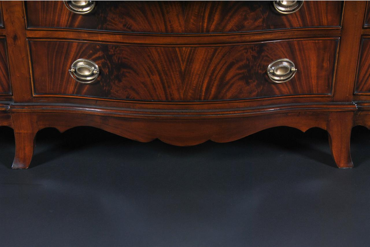 Antique Style Mahogany Bedroom Set / Triple Chest