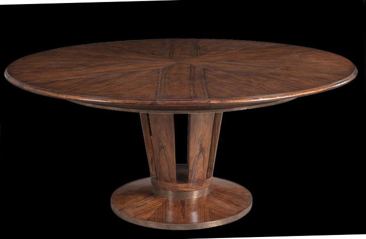 Modern Round To Round 54 To 70 Inch Round Dining Table