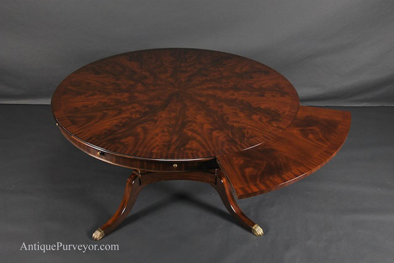 60quot to 84quot Round Brown Mahogany Dining Table Antique  : niagra 60 round dining table 84 round dining table perimeter table 8821 from ebay.co.uk size 1280 x 854 jpeg 68kB