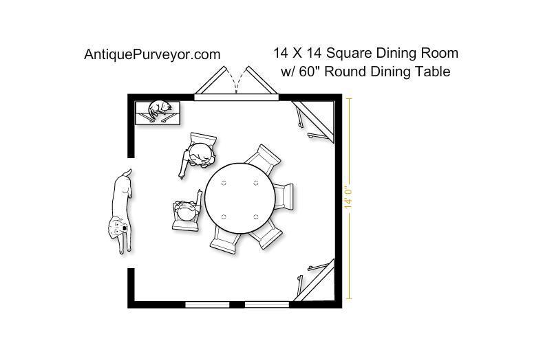 Niagra 60 Round Dining Table 84 Perimeter