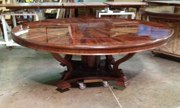 extra large round dining room tables. extra large round country